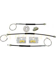 Kit reparatie macara geam electric  Opel Insignia 08-14 (dreapta-fata)