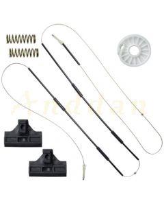Kit reparatie macara geam electric Ford Mondeo MK3 00-07 (stanga/dreapta-fata)