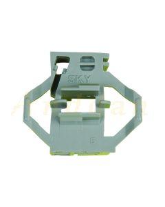 Clips reparatie macara geam electric Skoda Octavia 96-04/ Volkswagen Polo Classic 94-08 (stanga-spate)