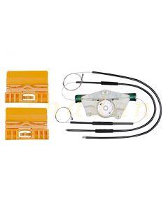 Kit reparatie macara geam electric Audi A4 B6/B7 00-09 (stanga-fata)