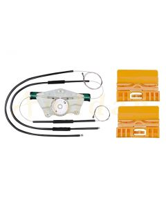 Kit reparatie macara geam electric Audi A4 B6 B7 00-09 (dreapta-fata)