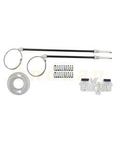 Kit reparatie macara geam electric Ford Fiesta 08-12 (stanga-spate)