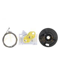 Kit reparatie macara geam electric Opel Meriva 03-10 (dreapta-fata/spate)