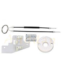 Kit reparatie macara geam electric Peugeot 407 04-10 (dreapta-fata)