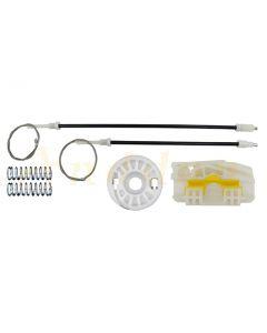 Kit  reparatie macara geam electric Peugeot 607 00-10 (stanga-spate)
