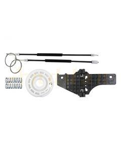 Kit  reparatie macara geam electric Peugeot 307 00-08 (stanga-fata)