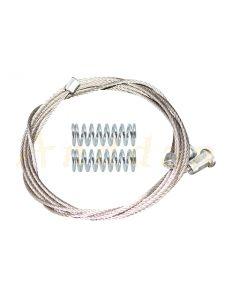 Cablu reparatie macara geam electric Peugeot 508 10-18 (stanga-dreapta/fata)