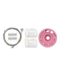 Kit  reparatie macara geam electric Hyundai i30 07-12 (stanga-fata)