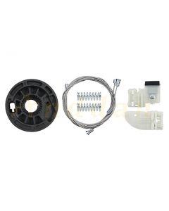 Kit  reparatie macara geam electric Hyundai MK2 i30 12-17 (stanga-fata)