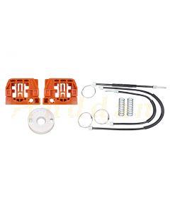 Kit reparatie macara geam electric Volkswagen Touran 03-10 (stanga/dreapta-fata)