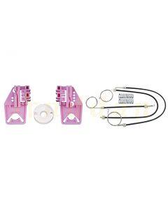 Kit  reparatie macara geam electric Skoda Superb MK2 08-15 (dreapta-fata)