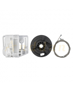Kit reparatie macara geam electric Renault Megane 2 02-09 (dreapta-spate)