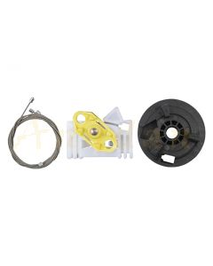 Kit reparatie macara geam electric Opel Meriva 03-10 (stanga-fata/spate)