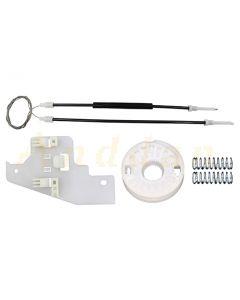 Kit  reparatie macara geam electric Peugeot 407 04-10 (stanga-spate)