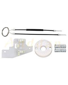 Kit  reparatie macara geam electric Peugeot 407 04-10 (dreapta-spate)