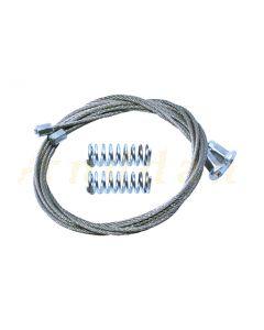 Cablu reparatie macara geam electric Peugeot 308 12-> (stanga-dreapta spate)