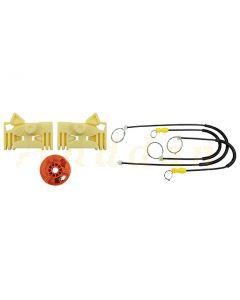 Kit reparatie macara geam electric Citroen C3 Pluriel 03-10 (stanga-fata)