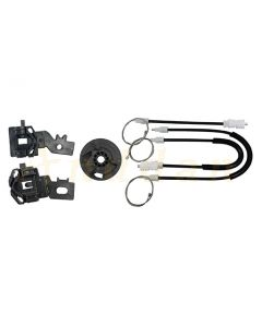 Kit reparatie macara geam electric Nissan Primera 02-15 (stanga-fata)