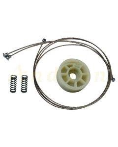 Kit reparatie macara geam electric Mercedes Clasa E W211 02-09 (stanga-spate)